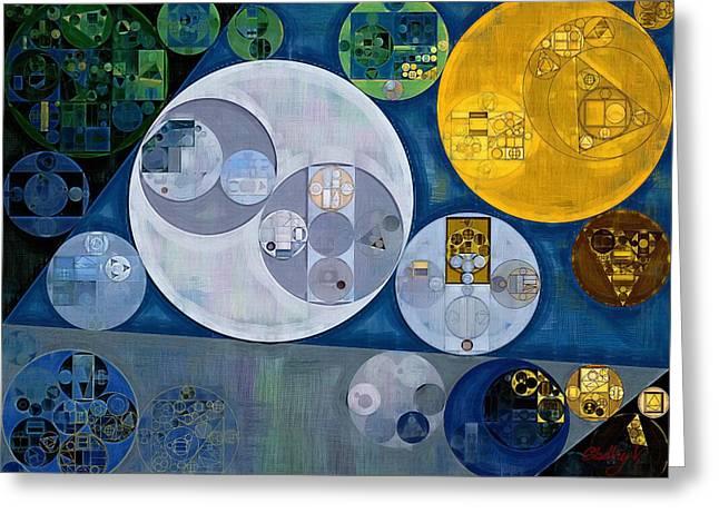 Abstract Painting - Chino Greeting Card by Vitaliy Gladkiy