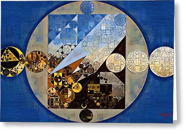 Abstract Painting - Eagle Greeting Card by Vitaliy Gladkiy