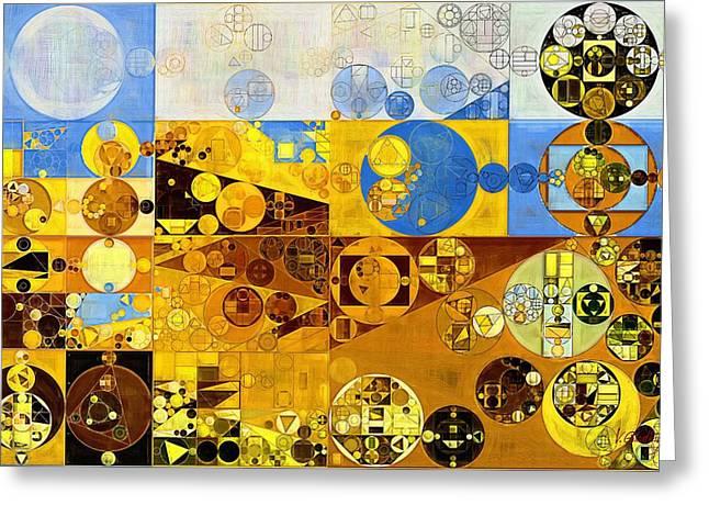 Abstract Painting - Galliano Greeting Card by Vitaliy Gladkiy