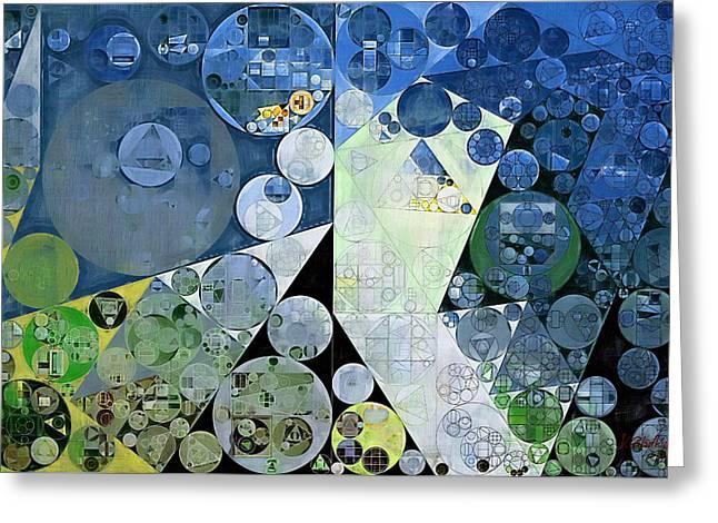 Abstract Painting - Paris White Greeting Card by Vitaliy Gladkiy