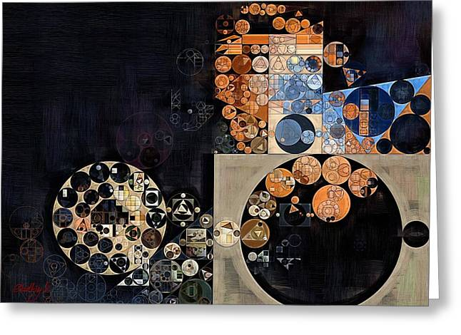 Abstract Painting - Pavlova Greeting Card