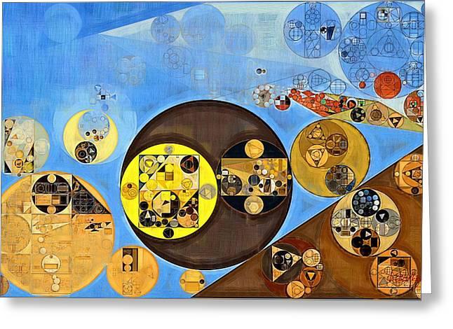 Abstract Painting - Rob Roy Greeting Card by Vitaliy Gladkiy