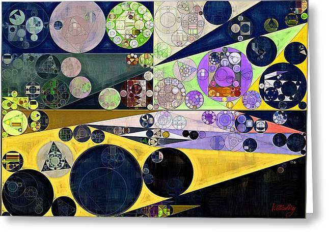 Abstract Painting - Tahuna Sands Greeting Card by Vitaliy Gladkiy