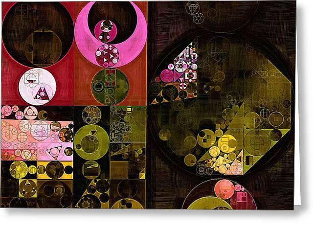 Abstract Painting - Tonys Pink Greeting Card by Vitaliy Gladkiy