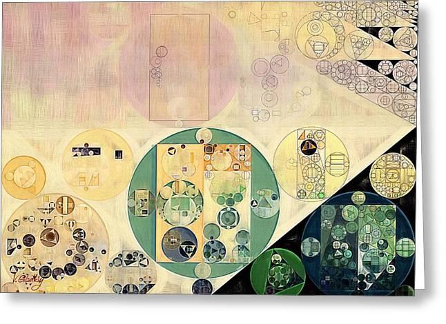 Abstract Painting - Xanadu Greeting Card by Vitaliy Gladkiy