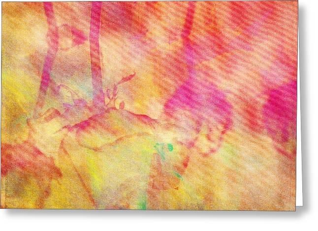 Greeting Card featuring the photograph Abstract Photography 003-16 by Mimulux patricia no No