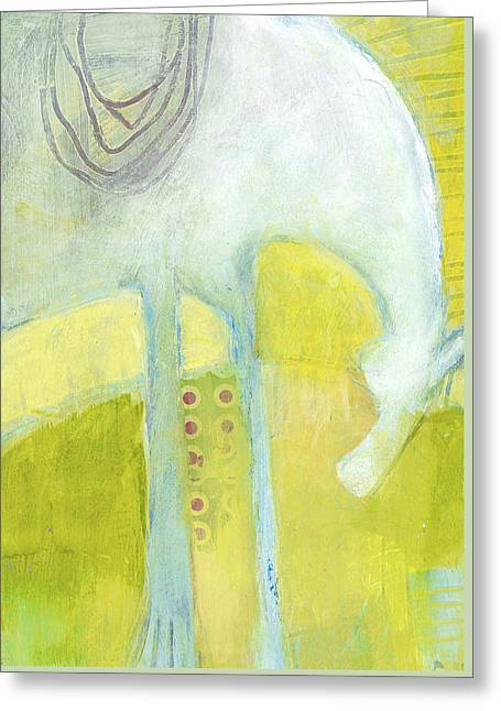 Abstract Pony No 7 Greeting Card