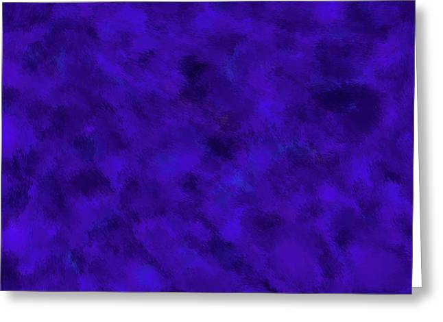 Greeting Card featuring the photograph Abstract Purple 7 by Clare Bambers