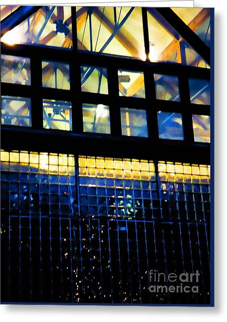 Abstract Reflections Digital Art #5 Greeting Card