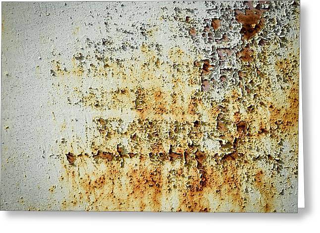 Abstract Rusty Background Greeting Card
