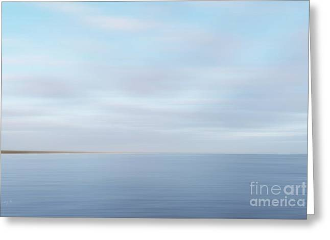 Greeting Card featuring the photograph Abstract Seascape by Ivy Ho
