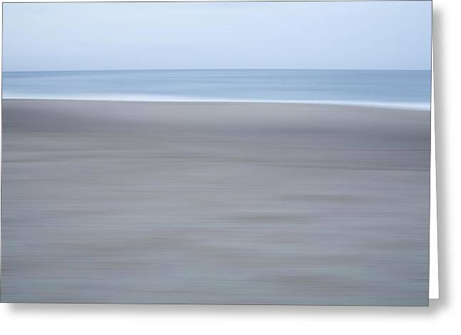 Abstract Seascape No. 10 Greeting Card