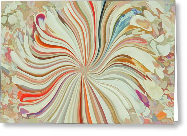 Abstract Seashells Watercolor Greeting Card by Aimee L Maher Photography and Art Visit ALMGallerydotcom