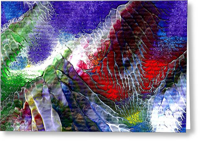 Abstract Series 0615a-3 Greeting Card