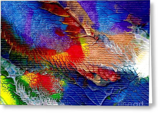 Abstract Series 0615a-5 Greeting Card