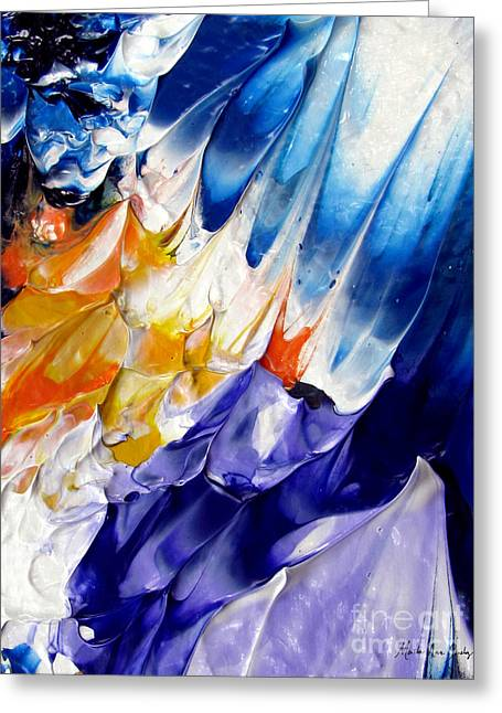 Abstract Series 0615a-6p1 Greeting Card