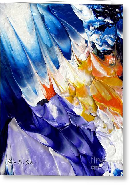 Abstract Series 0615a-6p2 Greeting Card