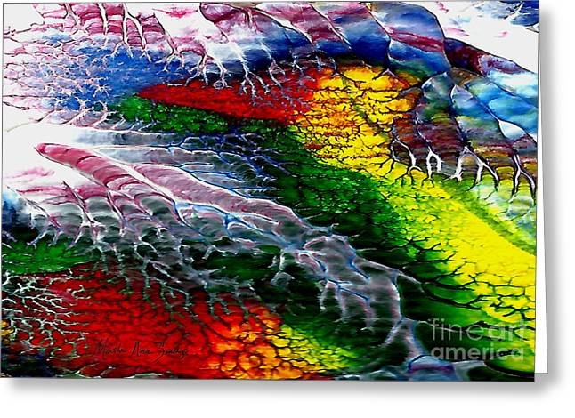 Abstract Series 0615a Greeting Card