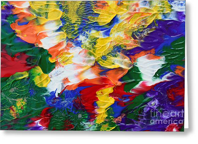 Abstract Series A1015al Greeting Card