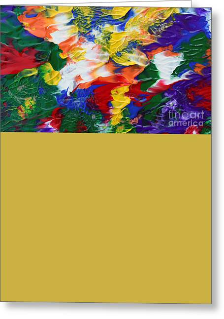 Abstract Series A1015ap Greeting Card