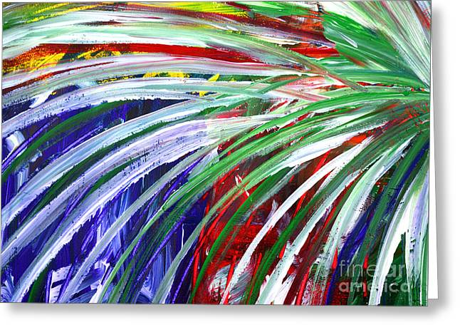 Abstract Series C1015bl Greeting Card