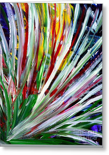 Abstract Series C1015cp Greeting Card
