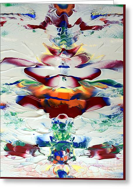 Abstract Series H1015al Greeting Card