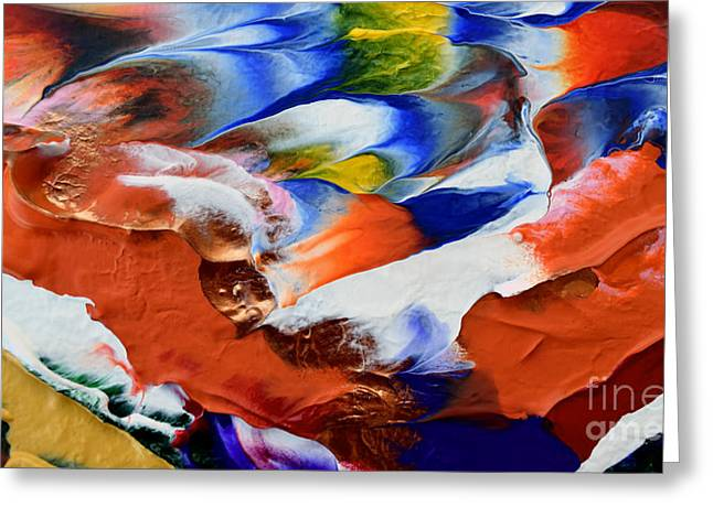 Abstract Series N1015al  Greeting Card