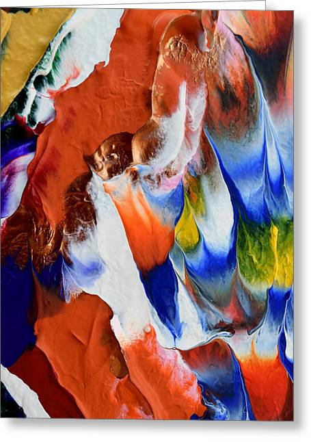 Abstract Series N1015bp Copy Greeting Card