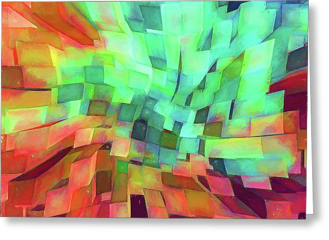 Abstract - Skyview Cityscape Greeting Card