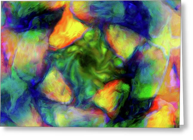 Abstract - Tourbillion Greeting Card
