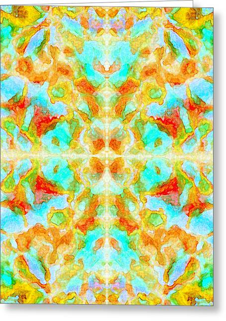 Abstract - Undisturbed Greeting Card