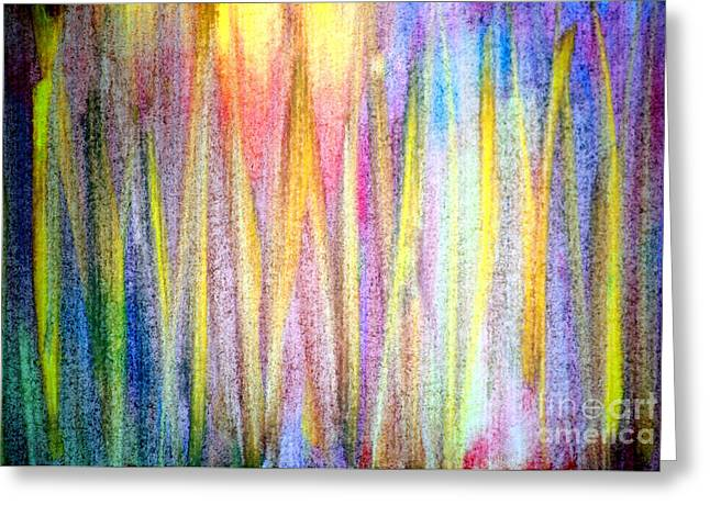 Abstract Watercolor A2 1216 Greeting Card