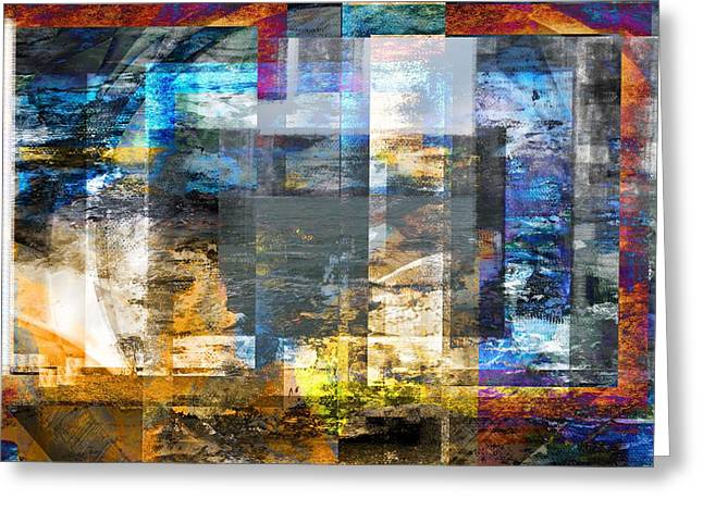 Abstract Wave .. Greeting Card