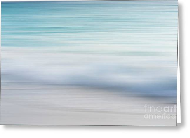 Greeting Card featuring the photograph Abstract Wave Photograph by Ivy Ho