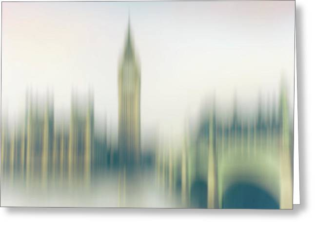 Abstract Westminster Greeting Card