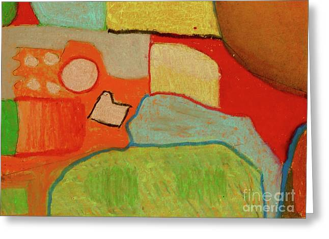 Abstraction123 Greeting Card by Paul McKey