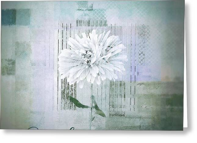 Abstractionnel - 334d1 Greeting Card by Variance Collections