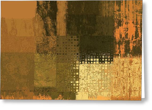 Abstractionnel - Ww43j121129158 Greeting Card by Variance Collections