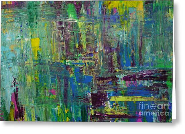 Abstract_untitled Greeting Card
