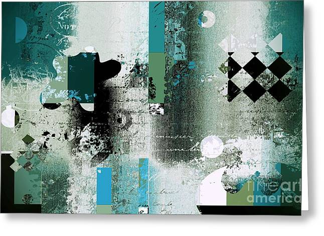 Abstracture - 21pp8bb Greeting Card by Variance Collections