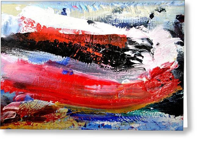 Abstraktes Bild 25 Greeting Card by Eckhard Besuden