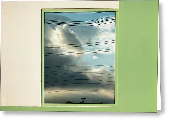 Abstritecture 19 Greeting Card