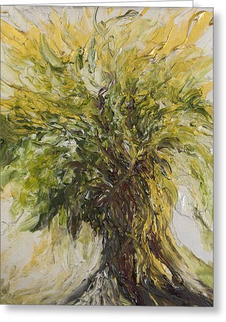 Abundance Tree Greeting Card