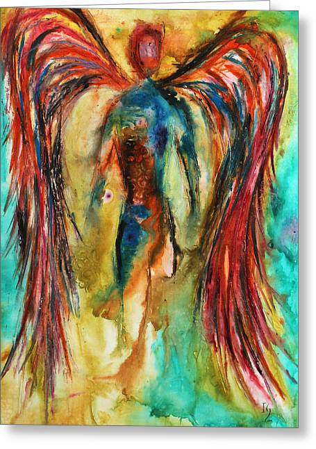 Abundant Colors Greeting Card by Ivan Guaderrama