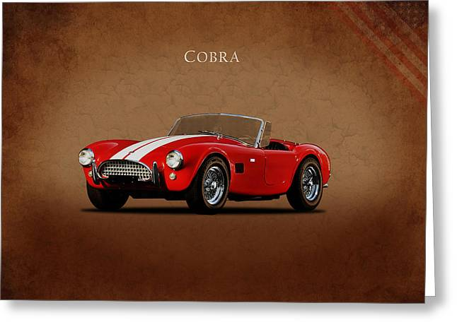 Ac Cobra Mk2 1963 Greeting Card by Mark Rogan
