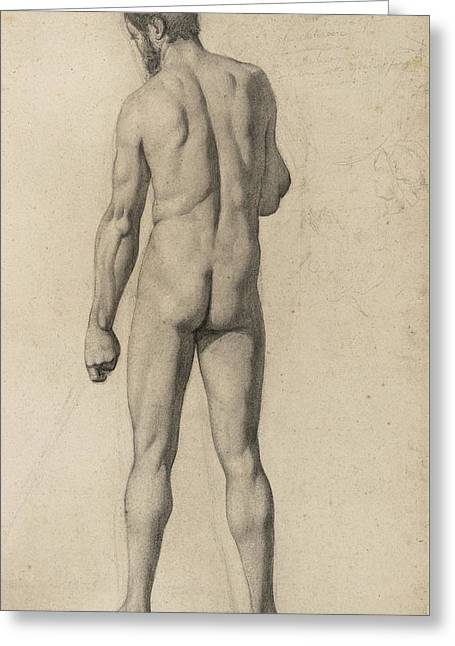 Academic Nude Greeting Card
