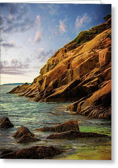 Acadia National Park--maine Greeting Card by Sherman Perry