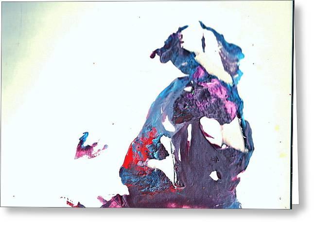 Accidental Clown Greeting Card by Anne-Elizabeth Whiteway