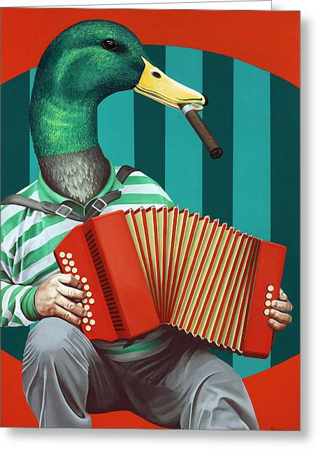 Accordion To This Greeting Card